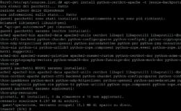 Abilitare i repository backports su Debian Jessie
