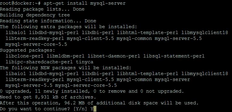 install-mysql-server