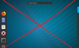 Red Hat / CentOS 7 con GUI minima