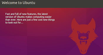 welcome to ubuntu 16.04